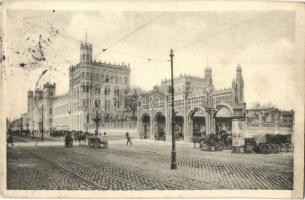 Vienna, Wien II. Nordbahnhof / railway station (EK)