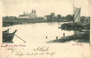 Poznan, Posen; riverside (EK)