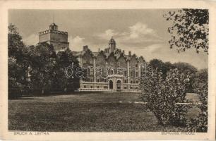 Lajtabruck, Bruck an der Leitha; Schloss Prugg / Prugg kastély / castle (EK)