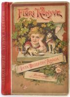 Bezerédy Amália: Flóri könye. Bp., é.n., Franklin, 173 p.+ 6 t. Kiadói színes illusztrált félvászon kötés, 6 egészoldalas litográfiával, szövegközti fekete-fehér illusztrációkkal, kissé kopottas borítóval, a címlap hiányzik, egy lap kissé szakadt. A szerző Bezerédj István felesége, hazánkban az első, aki gyermekirodalommal foglalkozott. A Flóri könyvét lánya részére írta. A Flóri könyvében szerencsésen egyesülnek a tankönyv jellegű adalékok, a versbe szedett imák, természetrajzi, földrajzi és más ismeretek azokkal a párosrímes intelmekkel és a mesékkel, amelyeket a szerző ölében ülő kislányának mondogatott. Főként ezek közvetlen egyszerűsége magyarázza, hogy a kis könyv az abban az időben Magyarországon is elterjedt filantropista pedagógiát jellemző moralizáló-oktató célzata ellenére nemzedékek meghatározó hatású első olvasmányává, összesen 16 kiadásban hozzávetőleg egy évszázadon át elevenen ható gyermekirodalmi alkotássá válhatott.