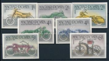1985 100 éves a motorkerékpár vágott sor (3.400)