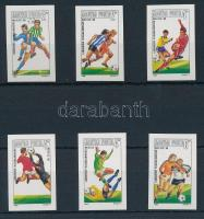 1986 Labdarúgó VB (V.) vágott sor (4.000)