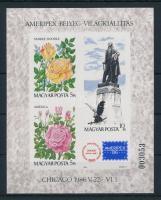 1986 Ameripex vágott blokk (5.000)