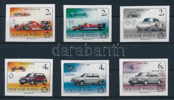 1986 Autó (III.) vágott sor (3.500)