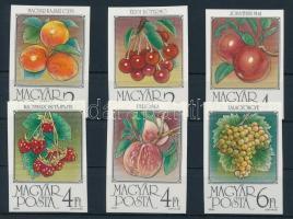 1986 Gyümölcsök (II.) vágott sor (3.500)