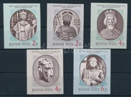1986 Történelmi arcképcsarnok (I.) vágott sor (3.800)