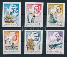 1987 Antarktiszkutatás vágott sor (10.000)