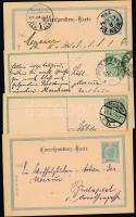 Ausztria 18 db díjjegyes levelezőlap az 1900-as, 1910-es évekből