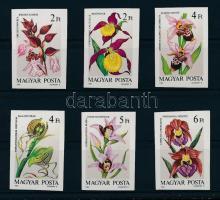 1987 Orchideák vágott sor (4.500)