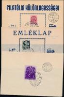 1938-1941 12 db emlék- és levelezőlap VISSZATÉRT bélyegzésekkel