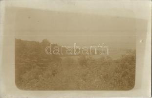 1913 Moraván, Moravany nad Váhom; látkép / general view, photo (felületi sérülés / surface damage)