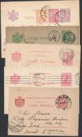 Románia 5 db régi levelezőlap