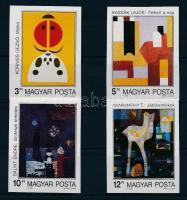1989 Festmények (XXI.) vágott sor (4.000)
