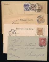 Ausztria 9 db régi levelezőlap