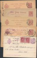 Spanyolország 5 db régi küldemény