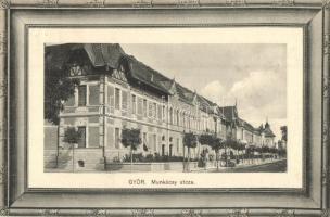 Győr, Munkácsy utca