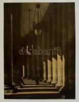 cca 1933 Kerny István (1879-1963): Róma, jelzés nélküli vintage fotóművészeti alkotás, 31,5x24 cm
