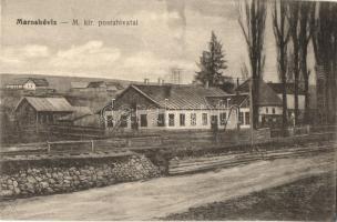 Maroshévíz, Toplita; Magyar királyi postahivatal, kiadja Walter Ede / post office