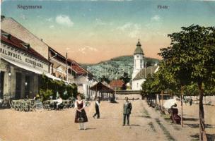 Nagymaros, Fő tér, Waldvogel cukrászda, étterem (EK)