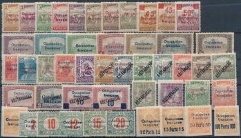 Arad 1919 48 db megszállási bélyeg, garancia nélkül (~150.000)