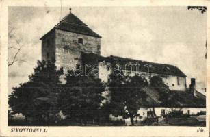 Simontornya, vár, Tóth Lajos kiadása (fa)
