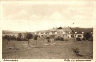 Balatonalmádi, Zsófia gyermekszanatórium (EK)