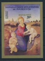 1983 Festmények (XXI.) vágott blokk (4.500)