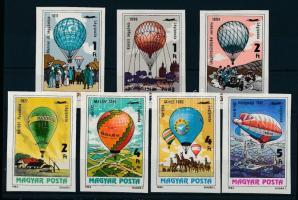 1983 200 éves a ballonrepülés vágott sor (4.000)