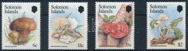 1984 Gomba sor Mi 522-525