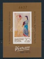 1981 Festmény (XIX.) vágott blokk (10.000)
