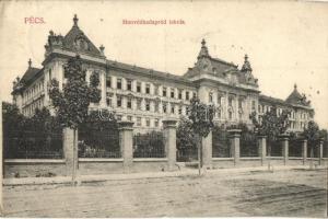 Pécs, Honvédhadapród iskola, Fürst Lipót kiadása (EK)