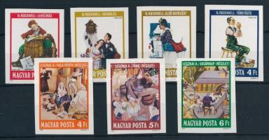 1981 Festmények (XVIII.) vágott sor (4.000)