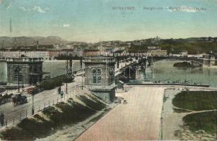 Budapest, Margit híd, N. M. Bp. (EK)