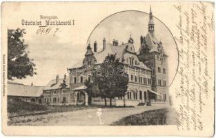 Munkács, Munkacheve; Beregvár, Bertsik Emil kiadása / castle (EK)