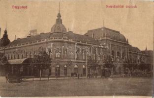 Nagyvárad, Oradea; Kereskedelmi csarnok, Lloyd kávéház, Helyfi László kiadása / Hall of Commerce, Lloyd café (EB)