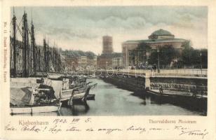 Copenhagen, Kobenhavn; Thorvaldsens Museum / port, museum