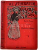 Hock János: Szivárvány. (Tárcák.) Bp., 1894, Ahtenaeum. Kiadói illusztrált egészvászon kötés, kissé kopottas borítóval, gerinccel.
