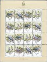 1991 WWF; Galambok kisív Mi 143-146