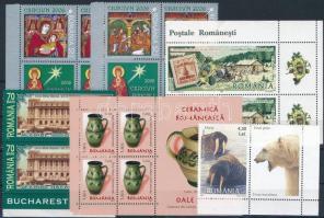 2006-2007 10 db bélyeg, összefüggésekben + 1 db blokk