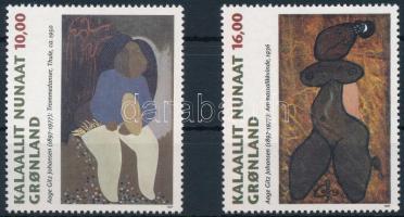 1997 Festmények sor Mi 310-311