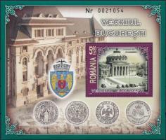 2007 Bukarest blokk Mi 398