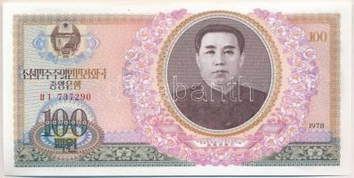 Észak-Korea 1978. 100W T:I North Korea 1978. 100 Won C:UNC Krause 22