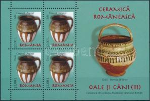 2008 Román kerámiák blokk Mi 419