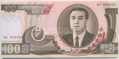 Észak-Korea 1992. 100W T:I North Korea 1992. 100 Won C:UNC Krause 43