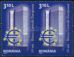 2008 10 éves az Európai Központi Bank pár Mi 6298