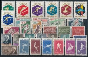 Olimpia 1960 motívum 31 klf bélyeg