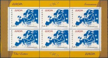 2008 Europa CEPT, A levél kisív Mi 6294