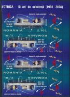 2008 Atomkutatás ívsarki szelvényes 4-es csík Mi 6331