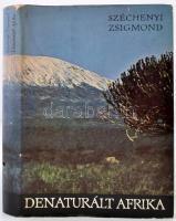Széchenyi Zsigmond: Denaturált Afrika. Bp., 1968, Szépirodalmi. Kiadói félvászonkötés, kiadói papír védőborítóban. Első kiadás!