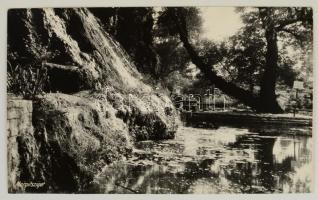 cca 1940 Budapest, Margitsziget, vintage feliratozott fotó, 25x40 cm